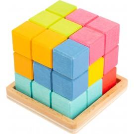 Puzzle cubo 3D Tetris, Small Foot