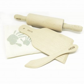 Set de herramientas de madera para plastilina, Ailefo