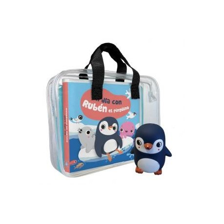 Libro de baño Rubén el pingüino
