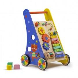 Andador trolley con actividades Circus, EurekaKids