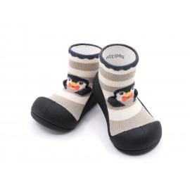 Zapatos ergonómicos Attipas Penguin Negro