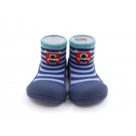 Zapatos ergonómicos Attipas Monster Azul