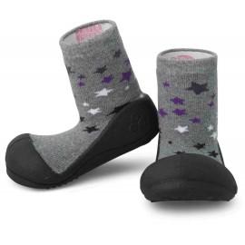 Zapatos ergonómicos Attipas Twinkle Negro, Tejido doble