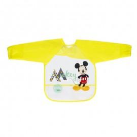 Babero con mangas Disney baby Mickey, Interbaby
