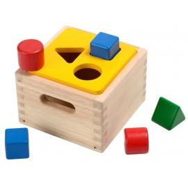 Caja Encaja las formas, Plan Toys