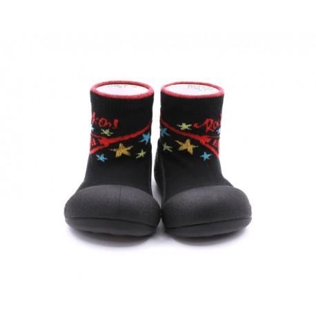 Zapatos ergonómicos Attipas Rock Negro