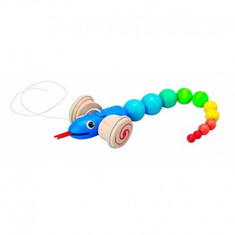 Arrastra la serpiente, Plan Toys