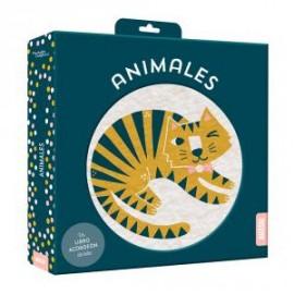 Libro tela acordeón: Animales suaves