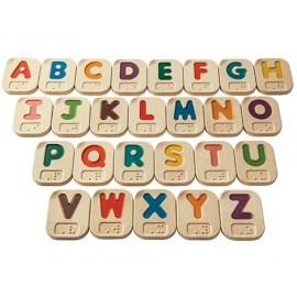 Alfabeto Braille A-Z, Plan Toys