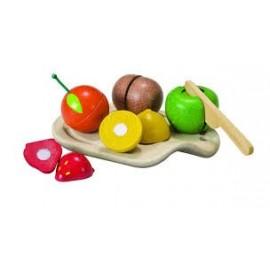 Surtido de Frutas para cortar, PlanToys