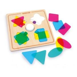 Juego de colores y formas Magic