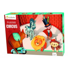 Puzzle 3D Circus Domador