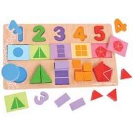 Puzzle Fracciones