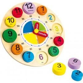 Reloj de Aprendizaje Inglés