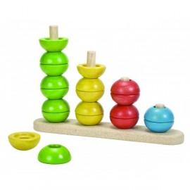 Contar y clasificar, Plan Toys