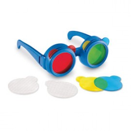 Gafas para mezclar colores