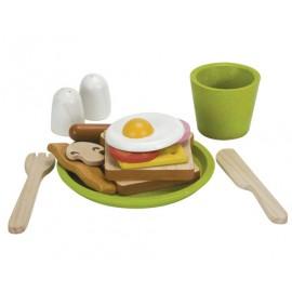 Menú desayuno, Plan Toys