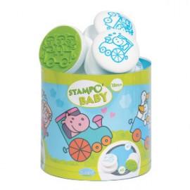 Sellos Baby stamp tren de animales