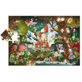 Puzzle gigante El castillo mágico, Lidattica