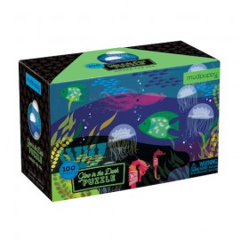 Puzzle fluorescente Bajo el Mar
