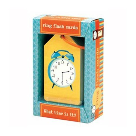 Flash Cards ¿Qué hora es?