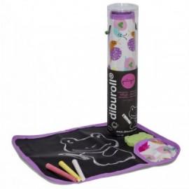 Pizarra enrollable diburoll violeta
