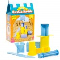 Mini moldes para hacer castillos