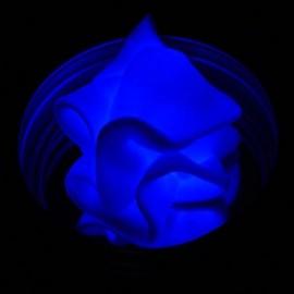Plastilina inteligente, Aura fluorescente