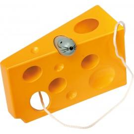 Queso para ensartar, amarillo