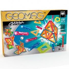 Juego de construcción Geomag Glitter 68 piezas