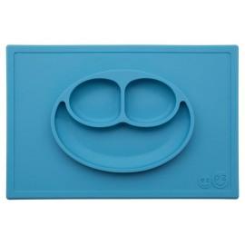 Plato Happy Mat Azul