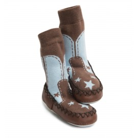 Calcetines antideslizantes Mocc Ons Cowboy
