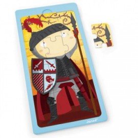 Puzzle 12 piezas El Caballero Arturo, Janod