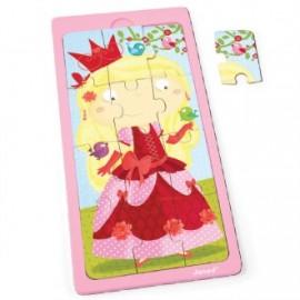 Puzzle 12 piezas Princesa Jessica, Janod