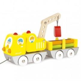 Camión grúa con remolque, Janod