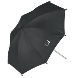 Sombrilla protección uv 50 con doble flexo, Negro