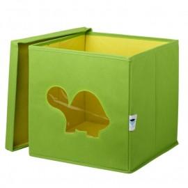Cubo de almacenaje Tortuga Verde