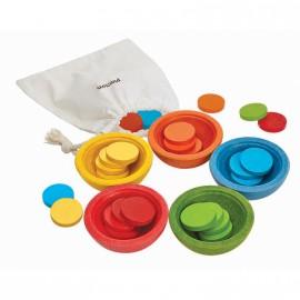 Cuencos Ordena y cuenta, Plan Toys