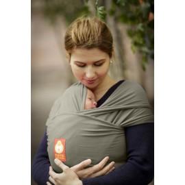 Fular elástico Hana Baby Orgánico Olive Grey