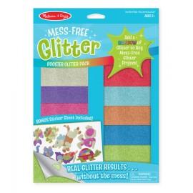 Glitter Láminas de purpurina con adhesivos de foam Animales, Melissa & Doug