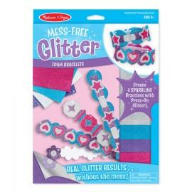Glitter Pulseras de foam, Melissa & Doug