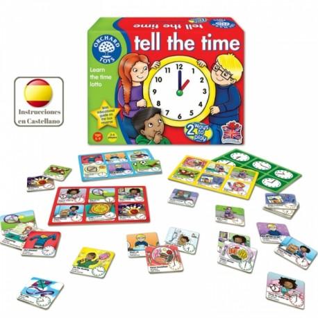 Tell The Time Juego De Las Horas En Inglés Orchard Toys