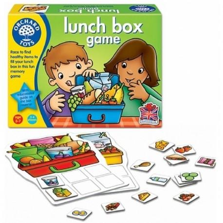 Lunch Box Game, juego caja de comida en inglés. Orchard Toys