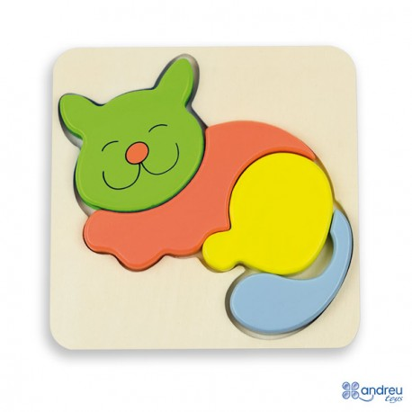 Baby Puzzle - Kitty, Andreu toys