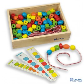 Juego de series - Threading Shapes, Andreu Toys