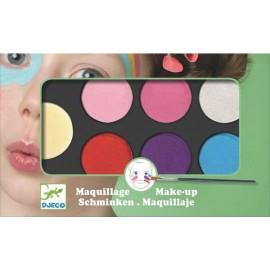 Maquillaje 6 Colores Pastel, Djeco