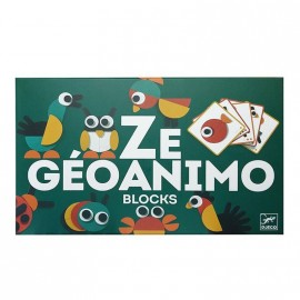 Ze Géoanimo Blocks, Djeco