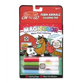 Magicolor Animales de granja, Melissa & Doug