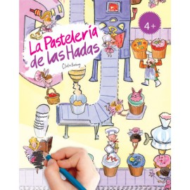 Calca con Scribble Down, La pastelería de las hadas