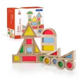 Bloques Junior Arcoíris 20 piezas, Guidecraft